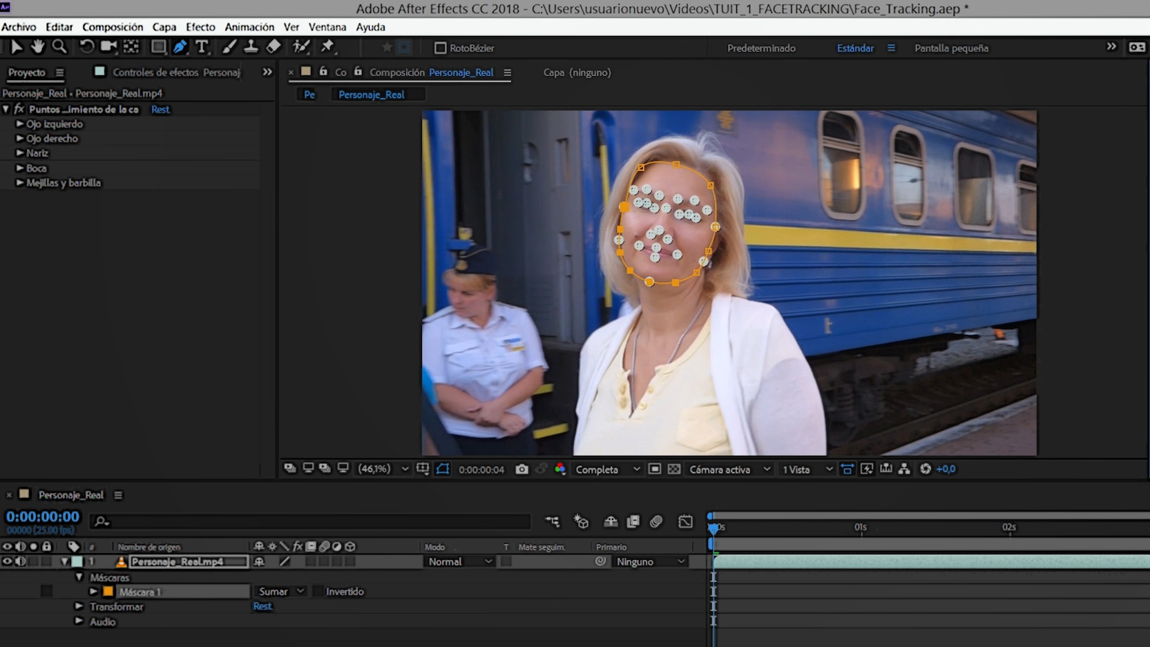 #TUITORIAL | Tracking de caras con Adobe After Effects
