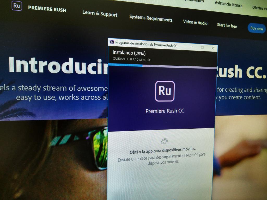 Adobe Premiere Rush CC: ¿qué es y cómo funciona?