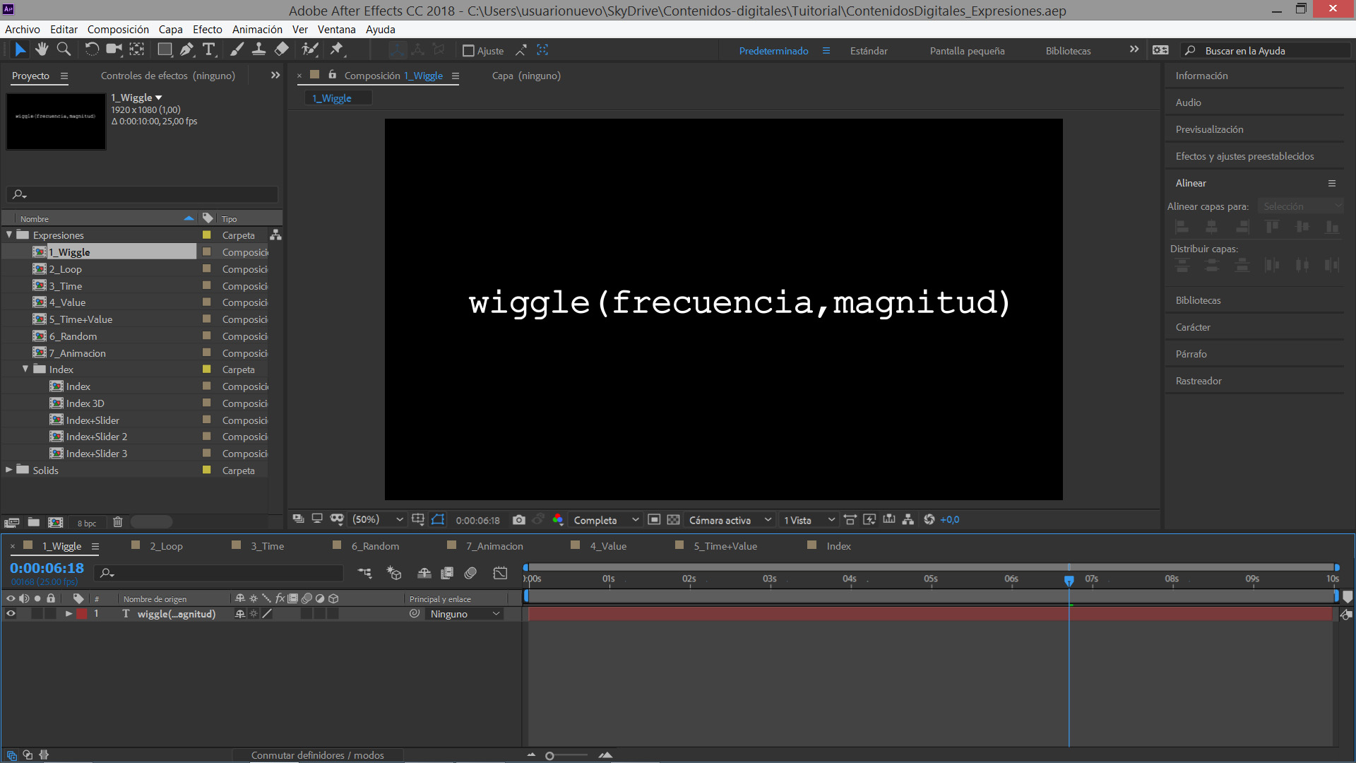 #TUITORIAL | Expresiones en Adobe After Effects