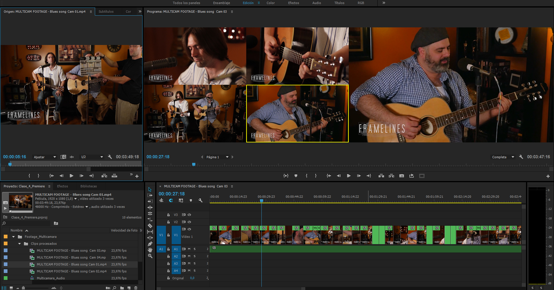 #TUITORIAL | Edición multicámara con Adobe Premiere Pro