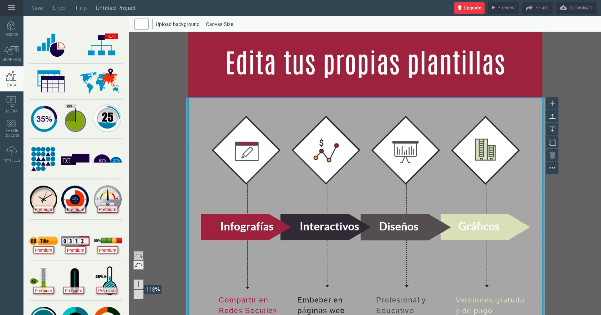 Aplicaciones online para diseño gráfico y presentaciones interactivas
