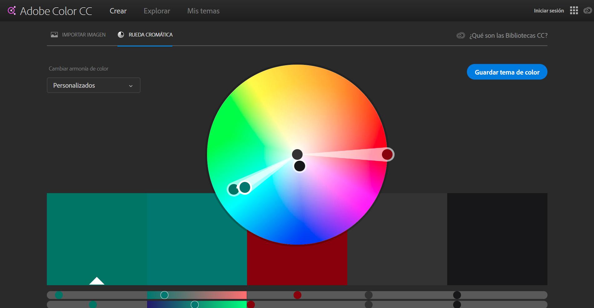 ¿Has probado alguna vez Adobe Color CC?