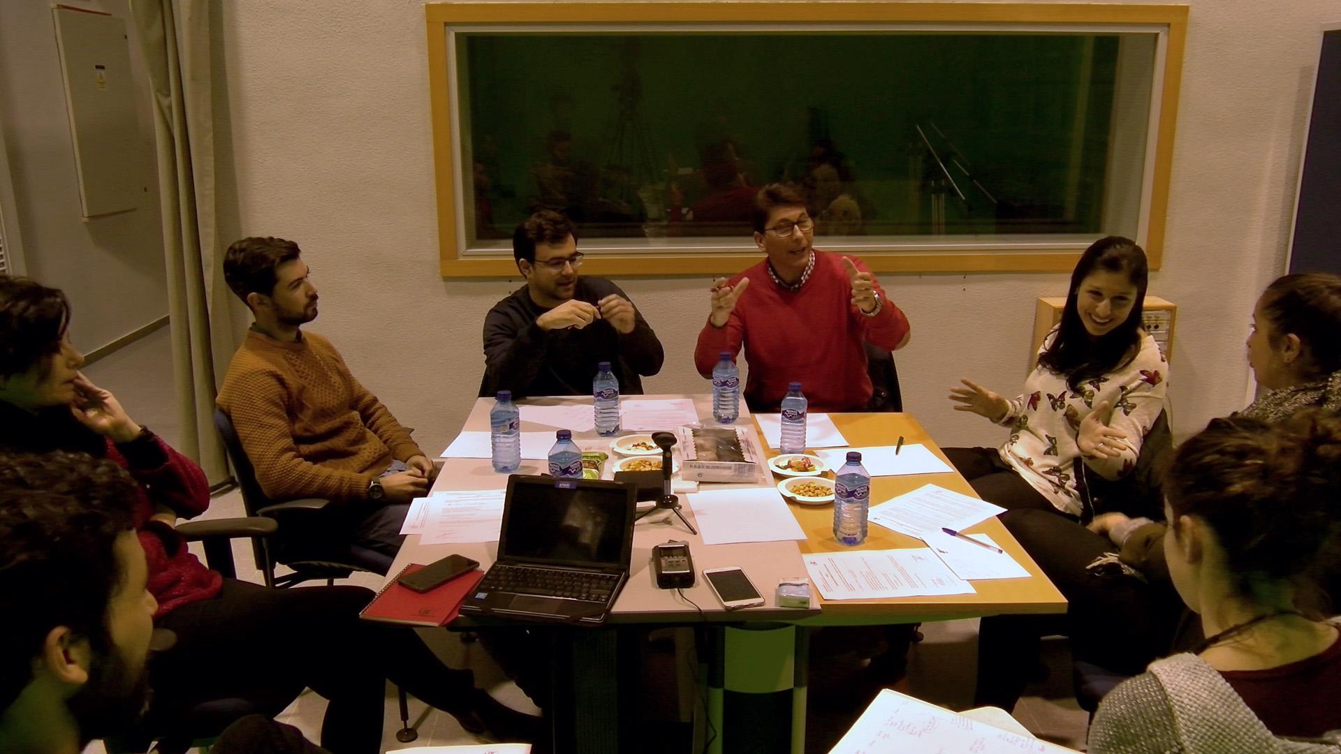 Primer focus group con usuarios de las aplicaciones de online de las cadenas de televisión nacional.
