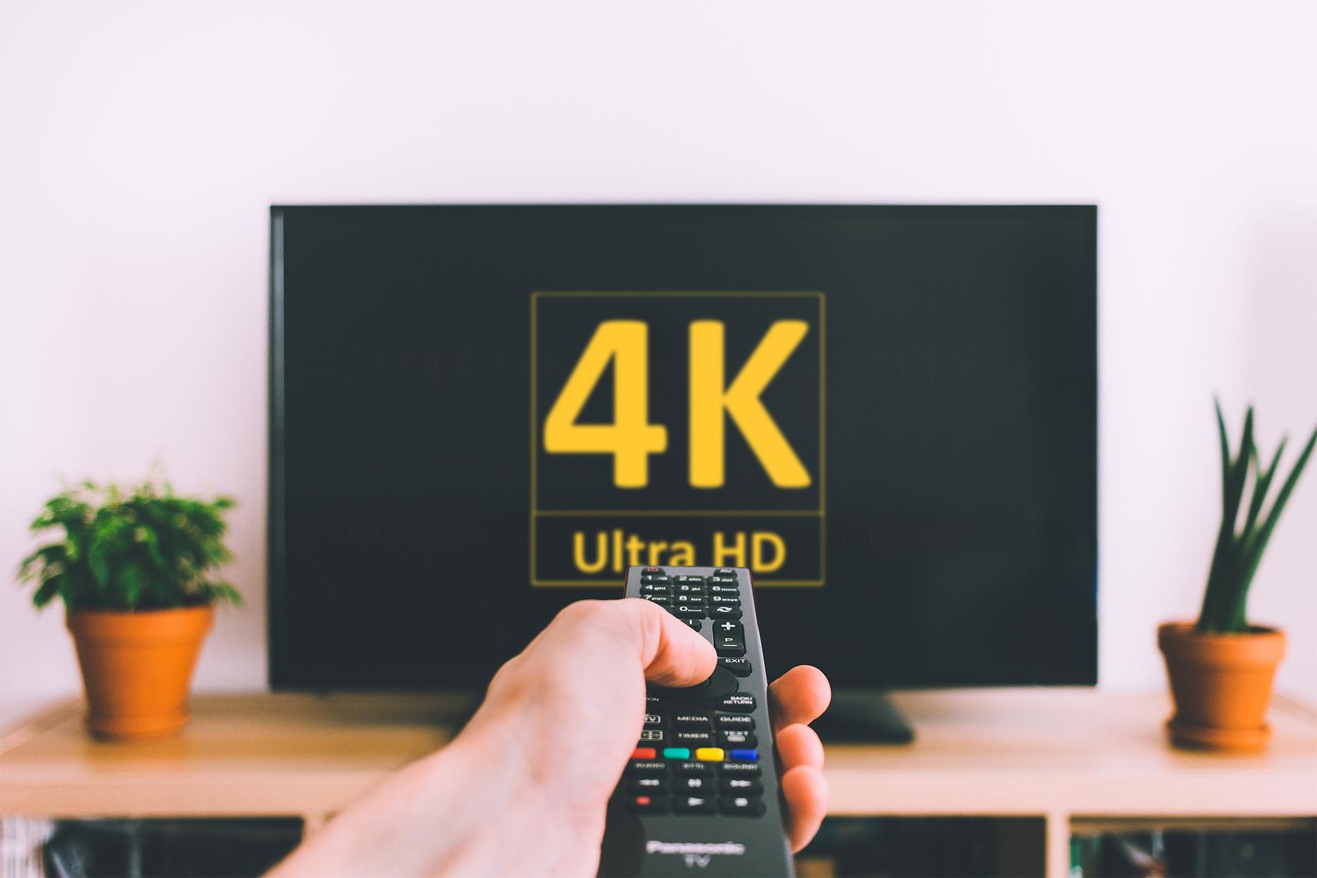 Televisor 4K: ¿podemos apreciar toda esa resolución?