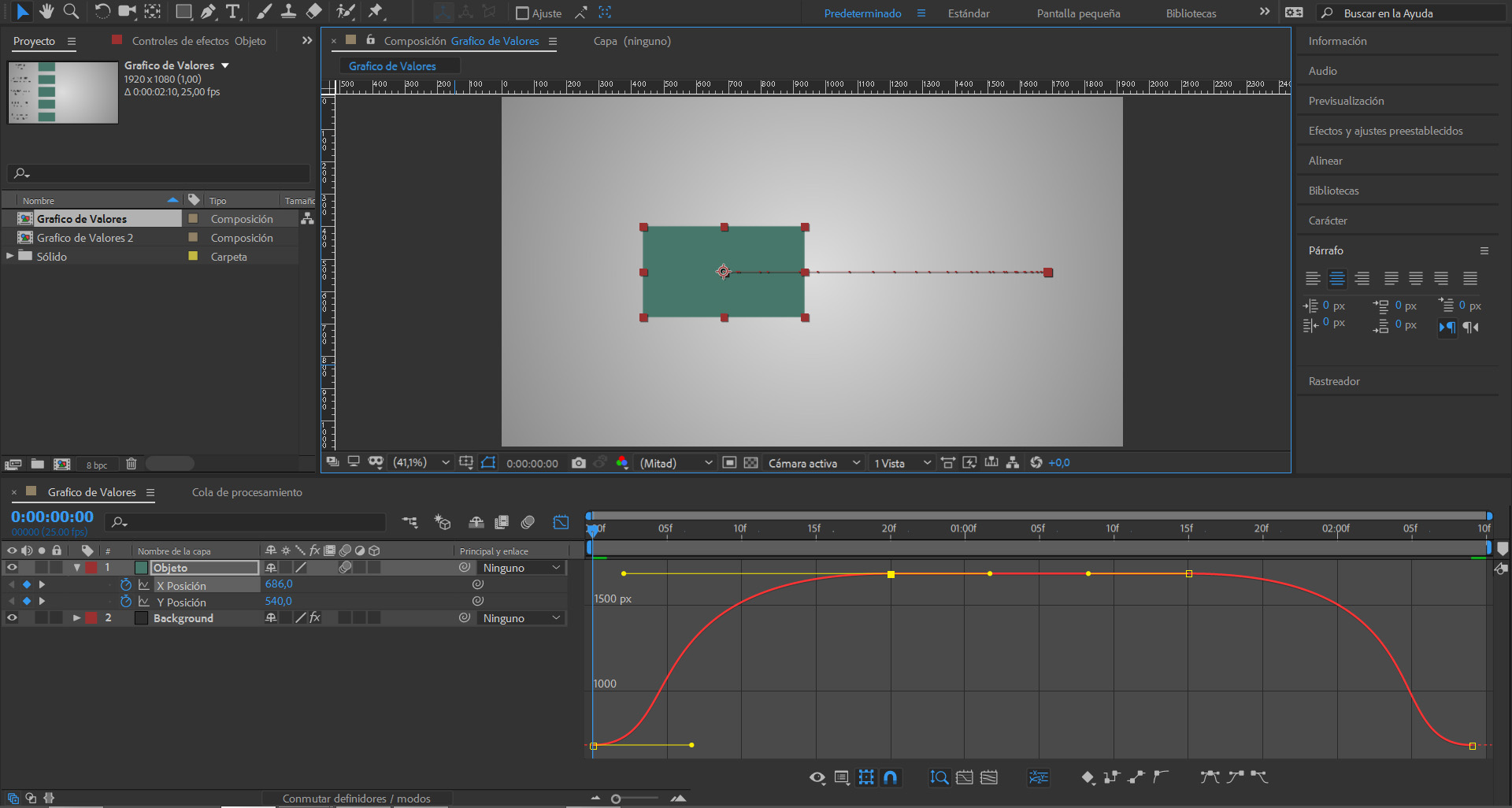 #TUITORIAL | El editor de gráfico de Adobe After Effects CC (I)