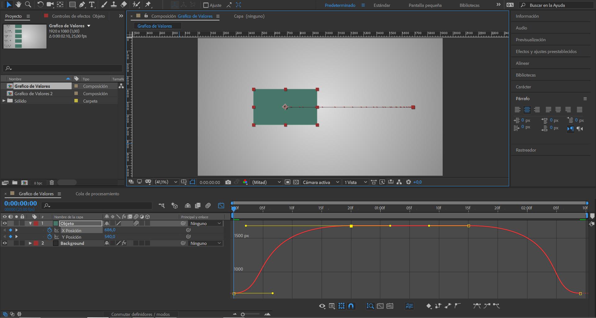 #TUITORIAL | El editor de gráfico de Adobe After Effects CC (I)